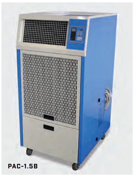 Twin Ports Aerial - 1-5 Ton Air-Cooled Portable Air